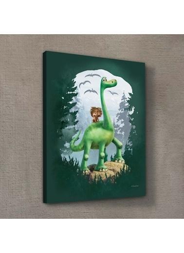 Disney İyi Bir Dinozor 30x40 cm Kanvas Tablo Renkli